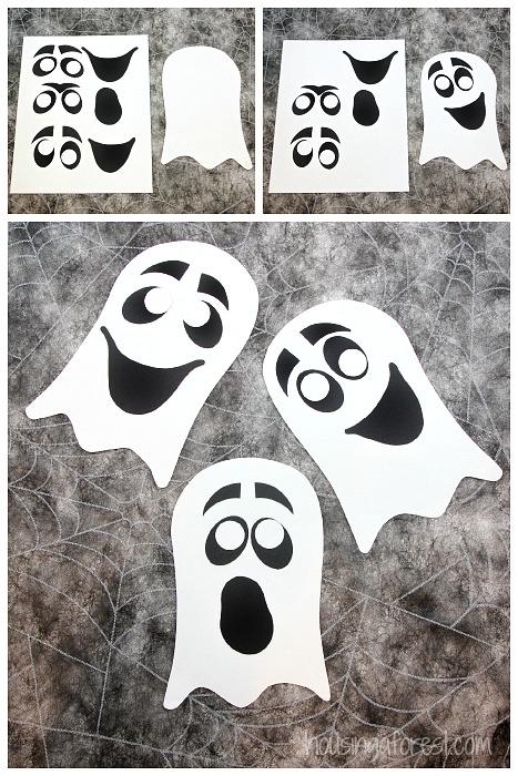 Ridiculous image regarding printable halloween craft