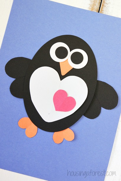 Almost Unschoolers Another Day Another Penguin Craft